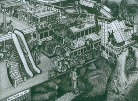 Hippie Bus Apartments Richie Montgomery Thumbnail