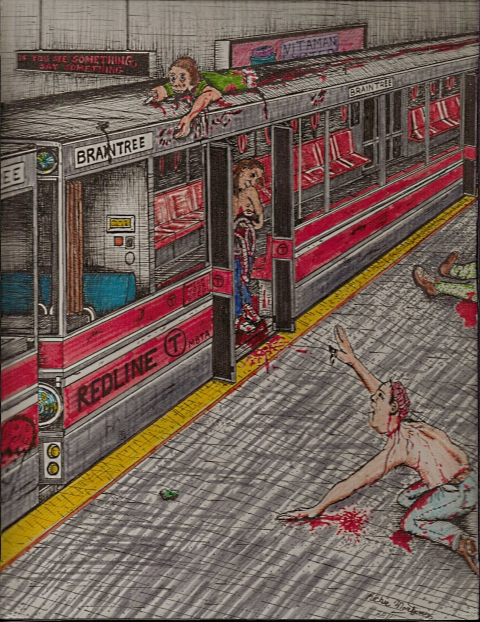 zombies-on-the-red-line-richie-montgomery